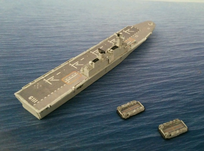 1/2000 ROKS Dokdo 3d printed painted and decal
