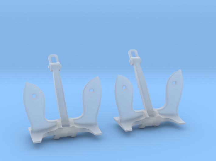1/160 USN Stockless (6.000 lb.) Set 3d printed