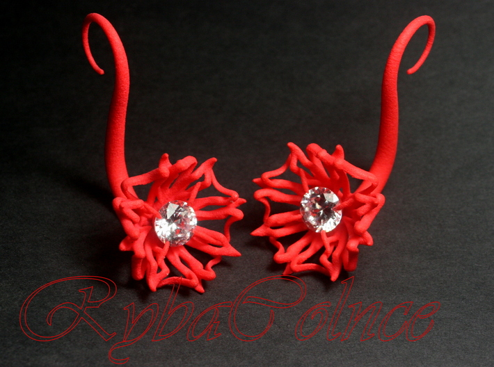 Plugs / gauges/ The Lily 10 g (2.5 mm) 3d printed