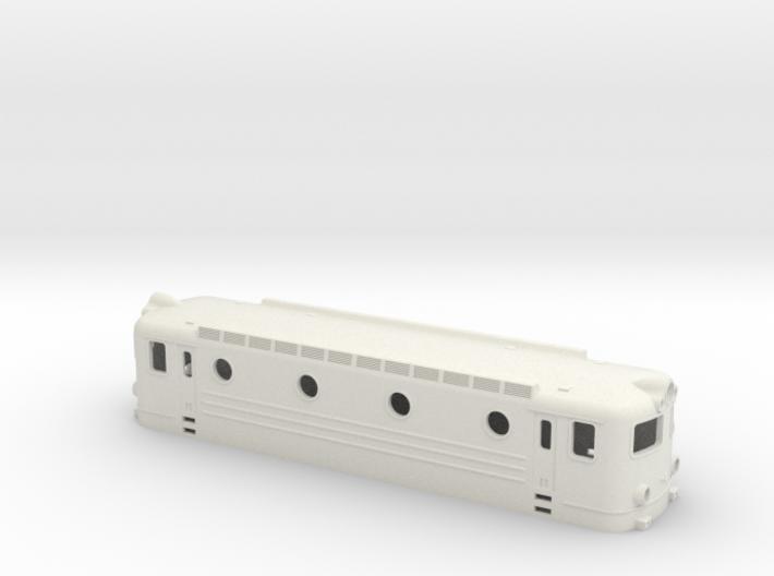 Swedish TGOJ electric locomotive type Bt - H0-scal 3d printed