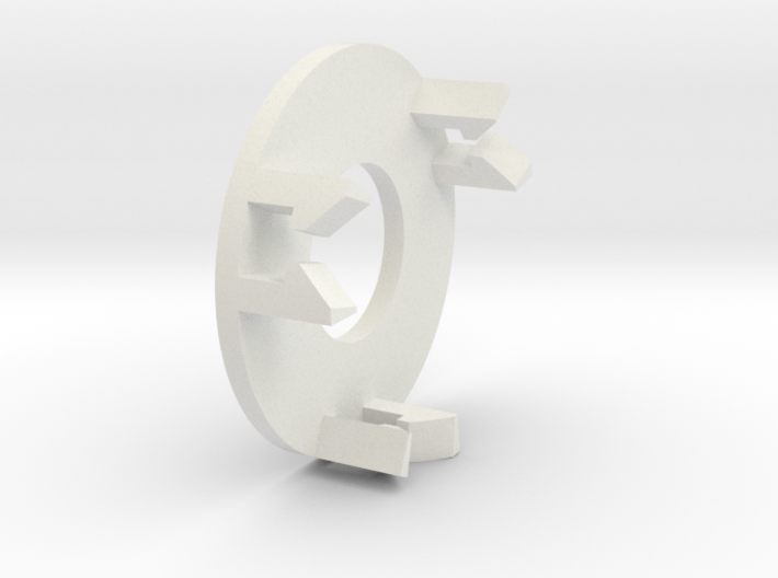 Bearing Capture Bracket for 2 Inch Airless Tire 3d printed