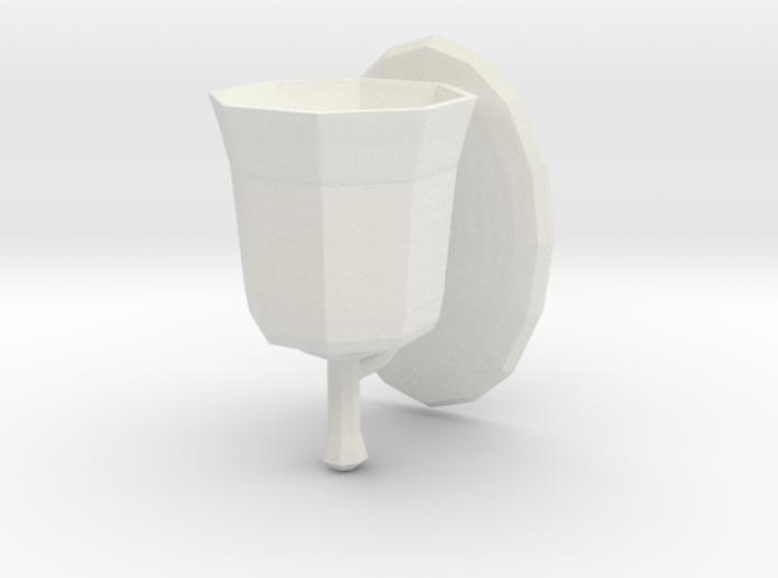 Printle Thing Bathroom light 1/24 3d printed