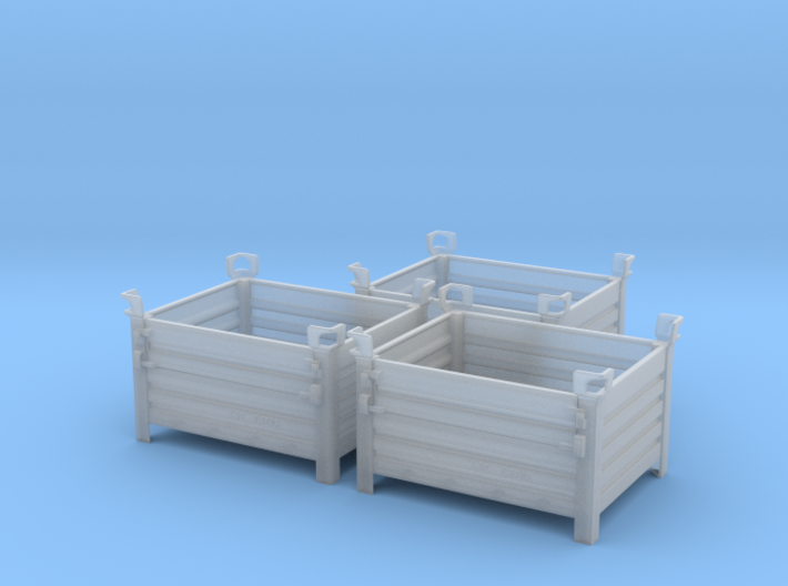 Stackable Container Type1 (3x) 3d printed