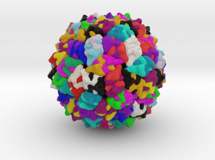 Bacteriophage GA 3d printed