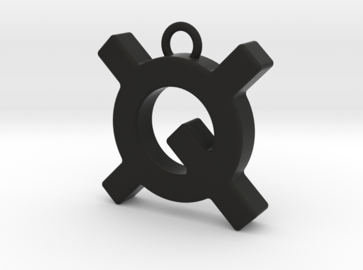 Quantstamp keychain 3d printed