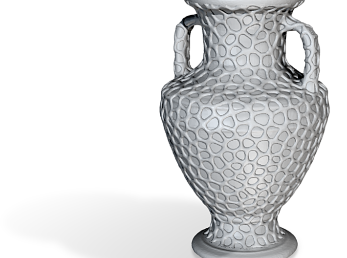 Voronized Amphora 3d printed