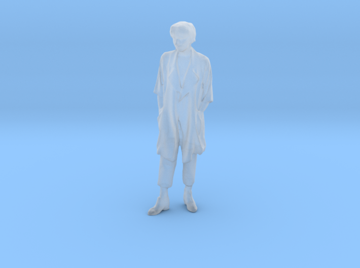 Printle F Diana Spencer - 1/87 - wob 3d printed