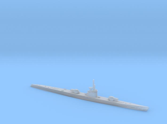 1/1200 Uboat XIB 3d printed