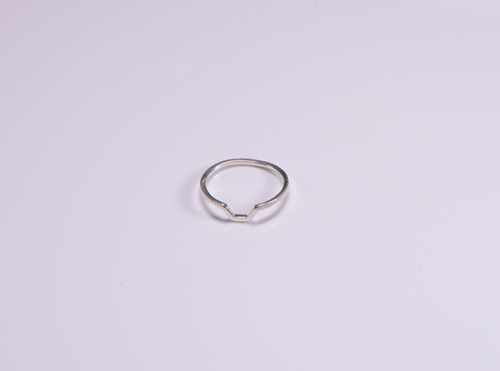 BETTER HALF Ring(HEXAGON), US size 8.5, d=18,5mm  3d printed