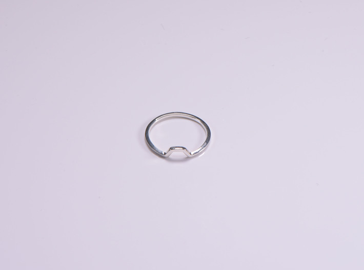 BETTER HALF Ring(HEXAGON), US size 12.5, d=22mm 3d printed