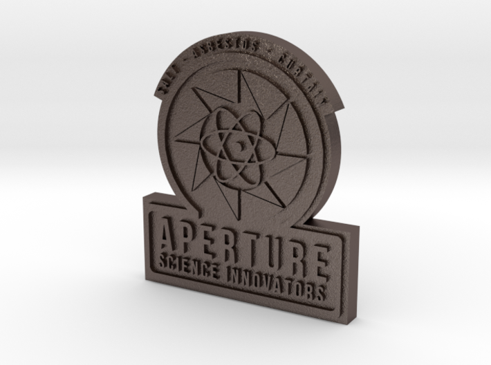 Portal 2 ® Aperture Science Innovators Pin 3d printed