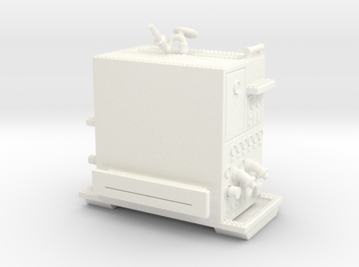 1/64-Scale Pumper Pump Module 3d printed