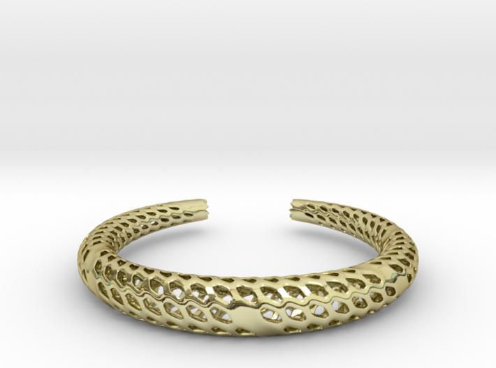 D-Strutura Bracelet Medium Size 3d printed