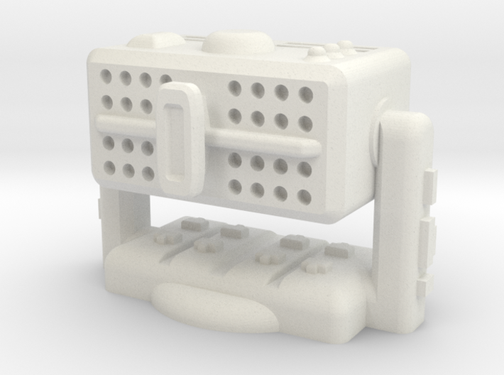 Missile Box Launcher With Base 3d printed