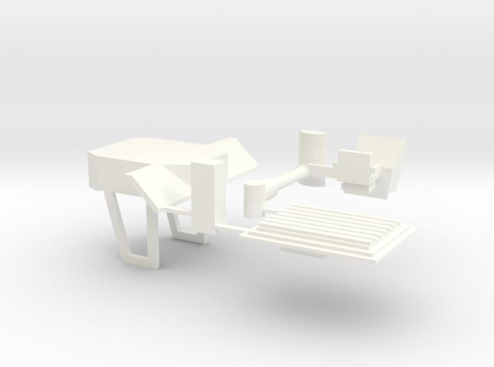 1/64 F/V Cab Kit 3d printed