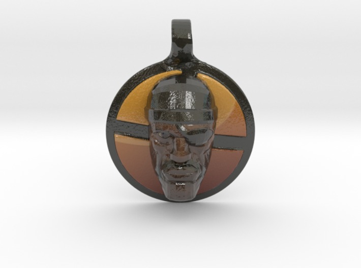 Team Fortress 2 - Demoman Pendant | Keychain 3d printed