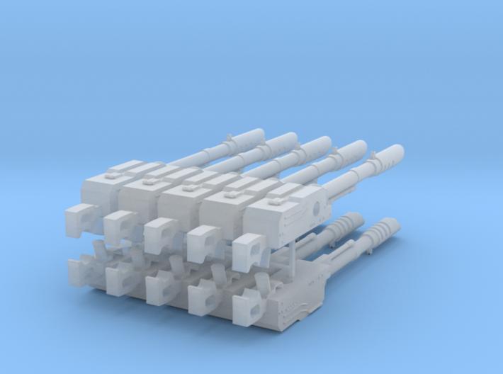 PKM lascannon big pack 3d printed