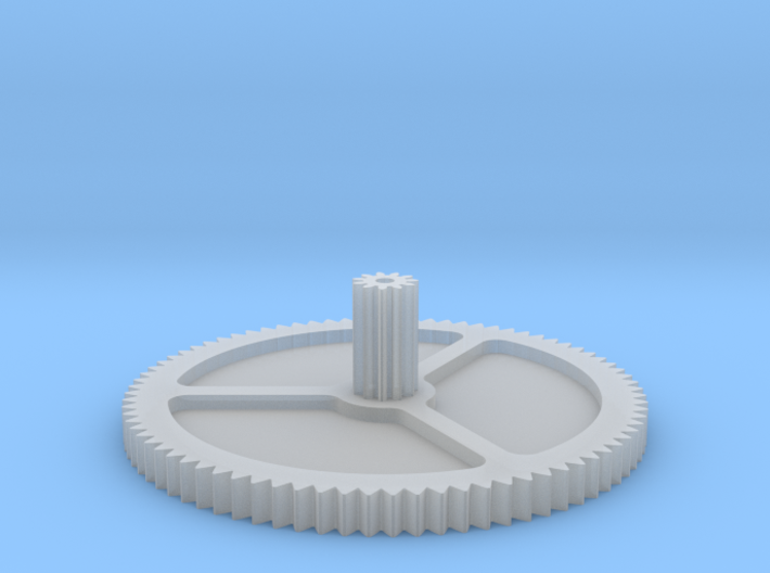 Philips turntable gear 3d printed