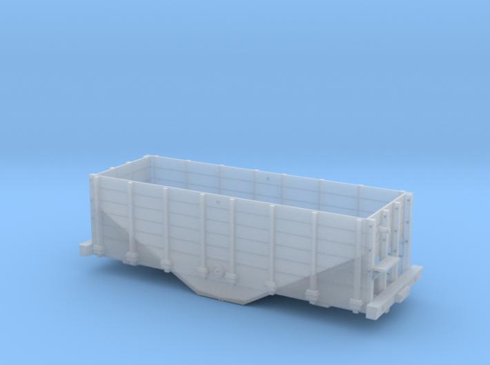 HOn3 hopper/ore car 3d printed