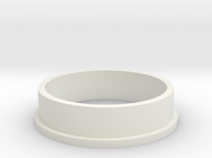 HIC Ring with Lip 3d printed