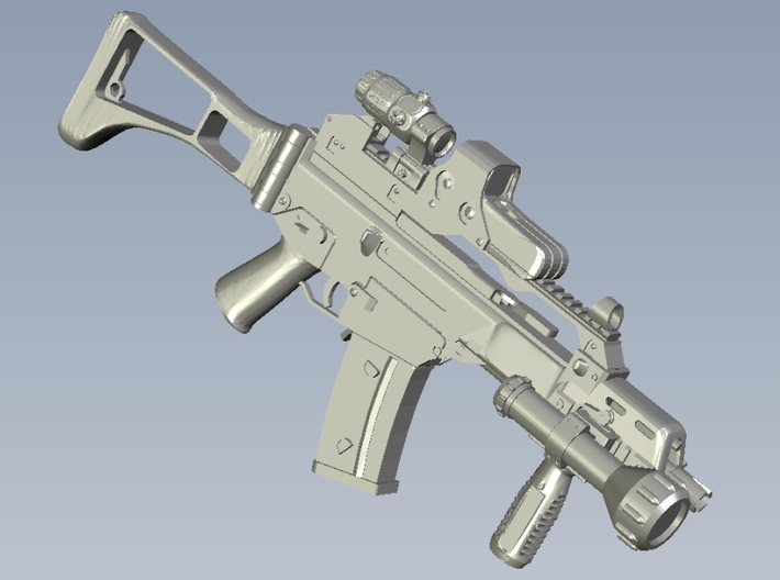 1/48 scale Heckler & Koch G-36C rifles x 10 3d printed