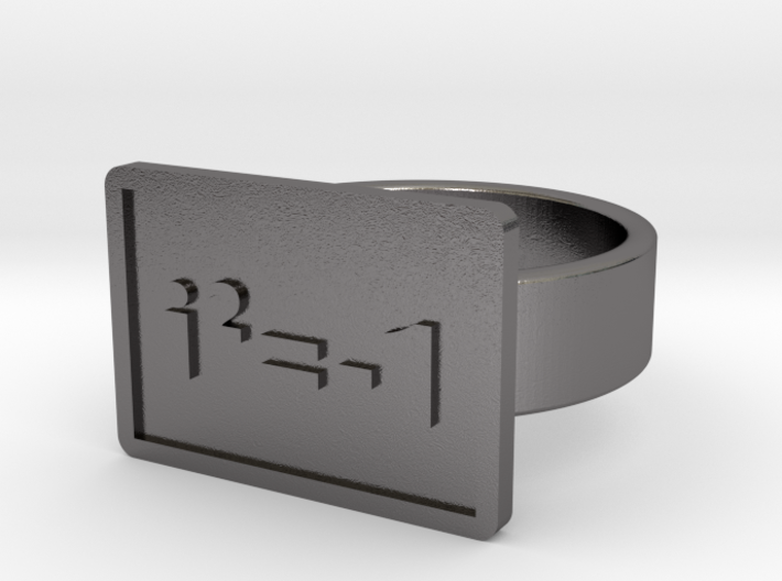 Complex Numbers Ring 3d printed
