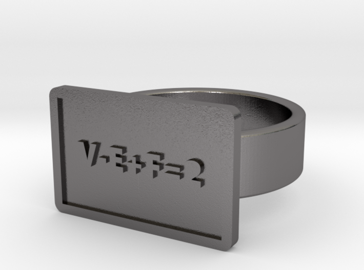 Euler's Characteristic Ring 3d printed