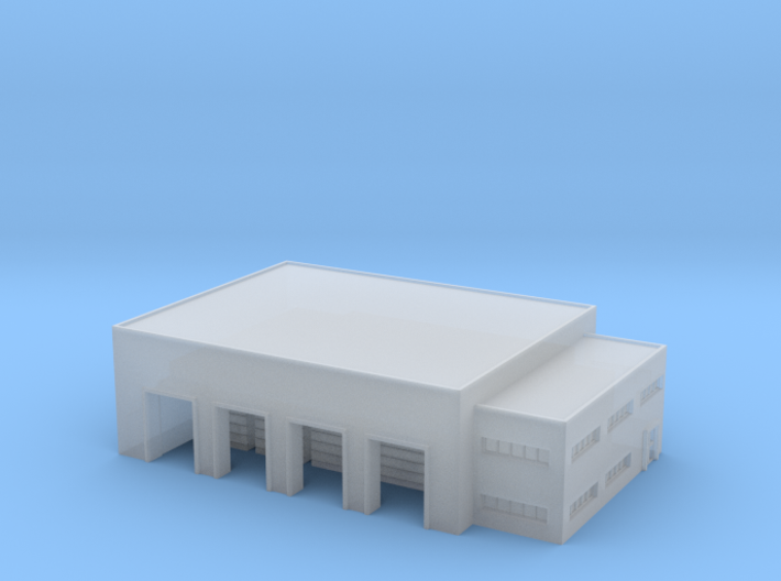 1:1200 warehouse+office 3d printed