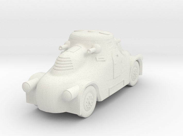 1/100 (15mm) Skoda PA-II 3d printed