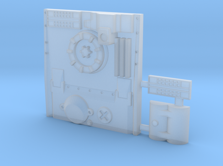 Greebly Detail #8 For Y-Wing 3d printed