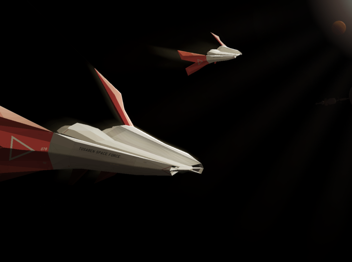 F/A-174 Laridae Space Fighter 3d printed