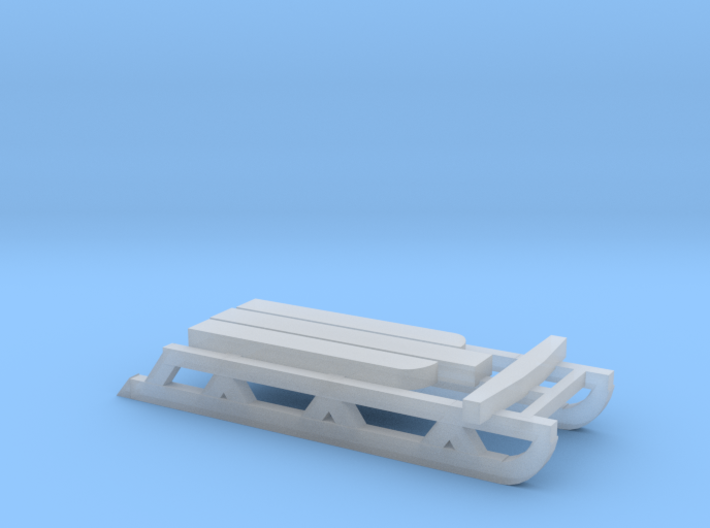 Snow Sled (S) 3d printed