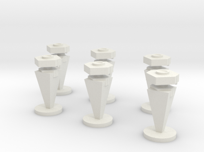 3D Mine Tokens - Mine Type C 3d printed