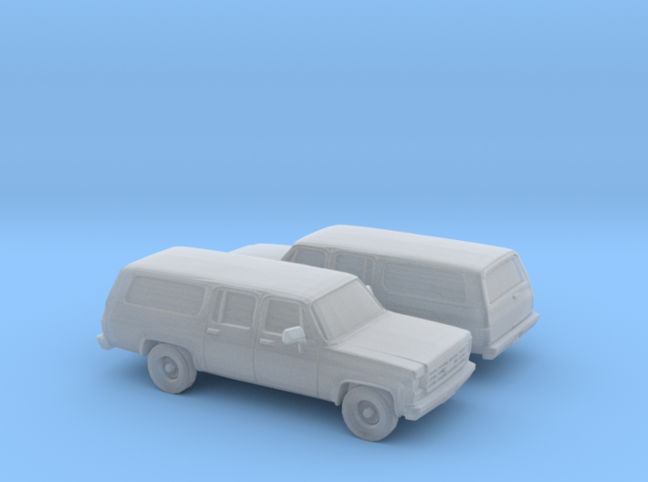 1/160 2X 1973-79 Chevrolet Suburban 3d printed