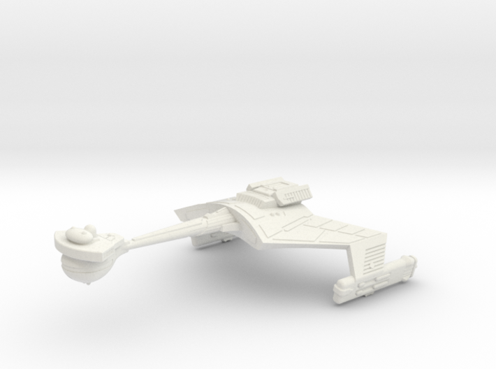 3788 Scale Klingon D7K Refitted Battlecruiser WEM 3d printed