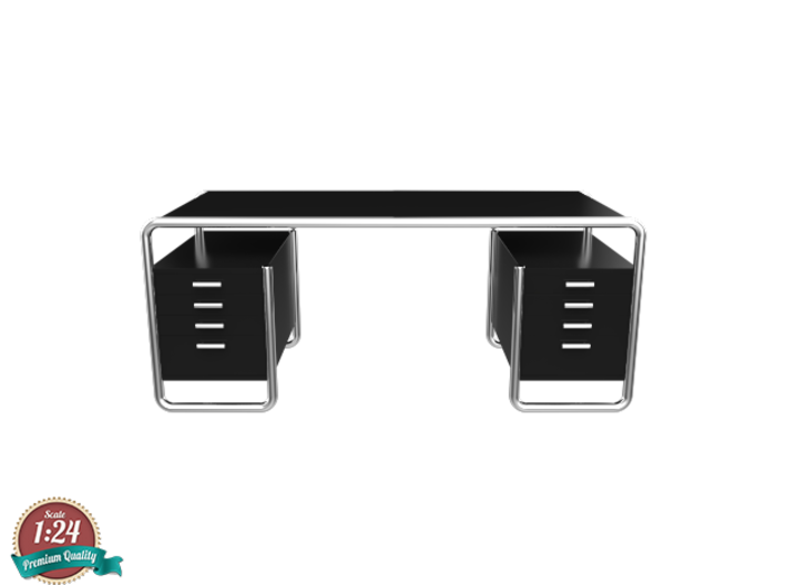 Miniature Thonet S 285/5 Table - Marcel Breuer 3d printed Miniature Thonet S 285/5 Table - Marcel Breuer