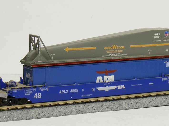 Arrowedge Container Load - Nscale 3d printed Painting and Photo by Jeffrey King