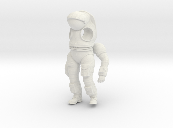 Mark III Mars Experimental Spacesuit  1:12 / 1:16 3d printed