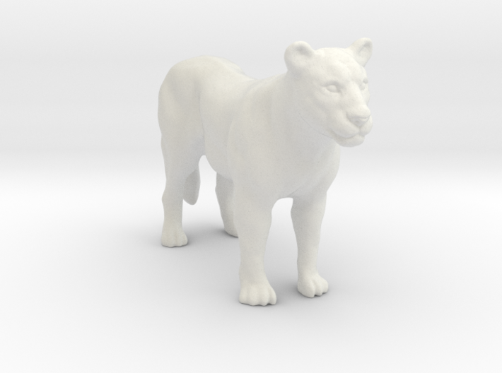 Printle Thing Lioness - 1/24 3d printed
