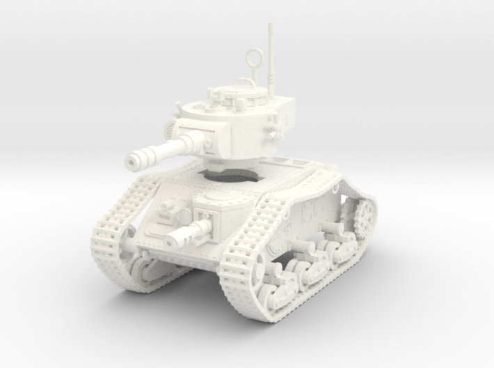 15mm Space Empire Tank 3d printed