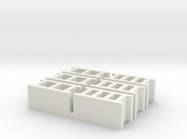 Cinder Blocks 3d printed