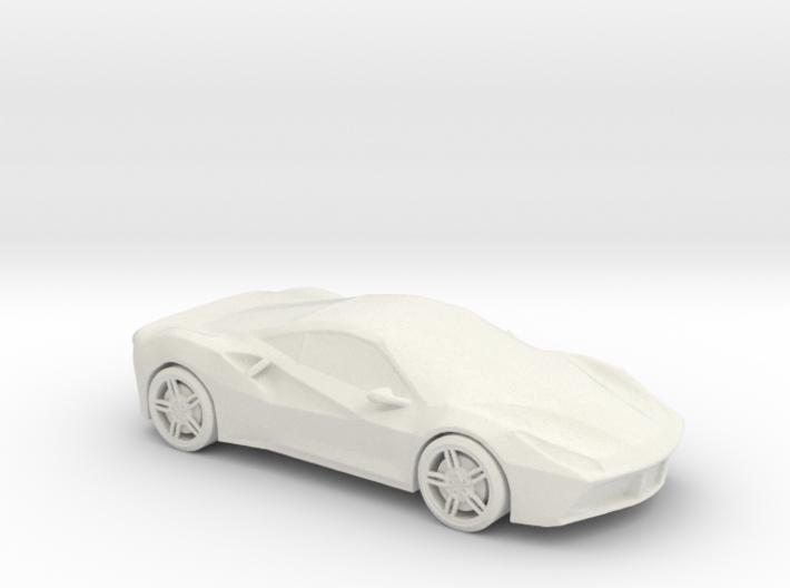 Printle Thing Ferrari 488 - 1/50 3d printed