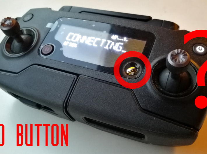 Mavic Pro Controller 5D Button 3d printed 3D printed solution to the 5D button of Mavic