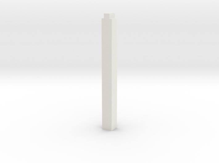 Triple Underpass West Wing Wall Pillar 3d printed