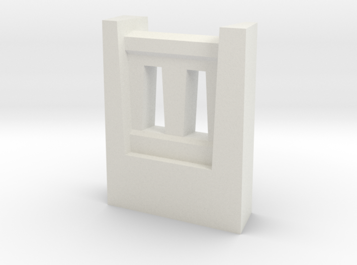 Triple Underpass SW Wing Wall Fence 3d printed