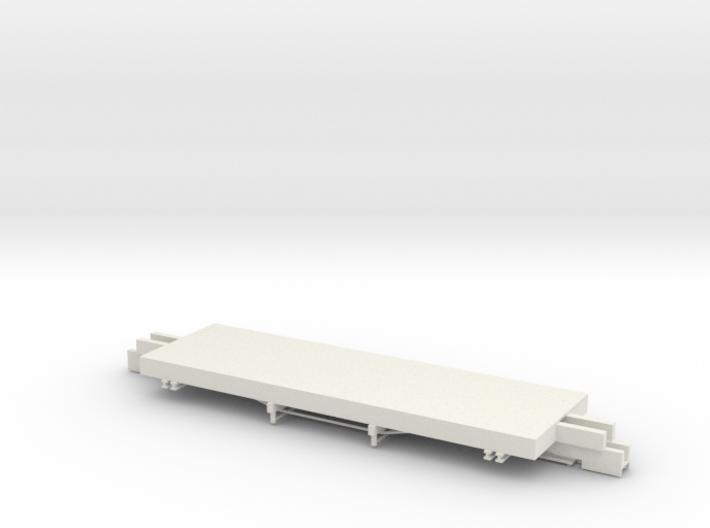 ET&WNC Caboose 505 Frame 3d printed