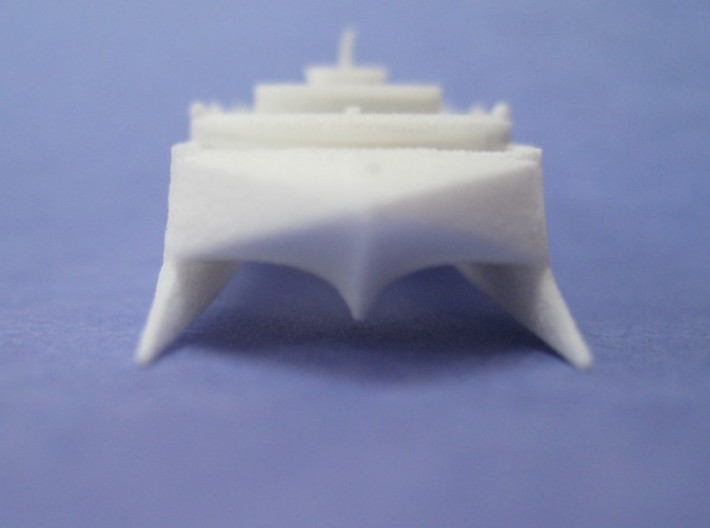 HSV-X1 Joint Venture (1:1200) 3d printed