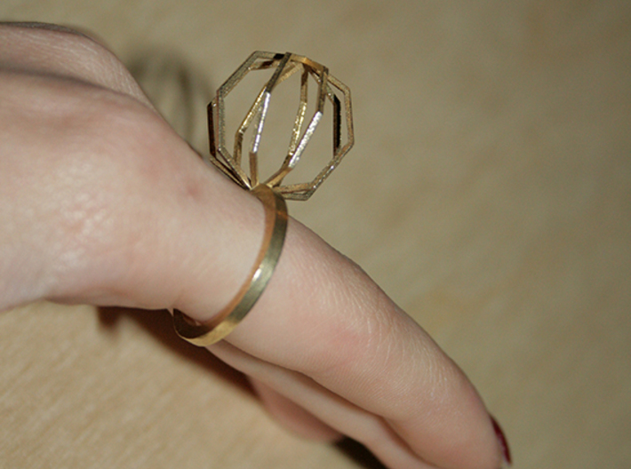 Ngon Ring size 9 3d printed
