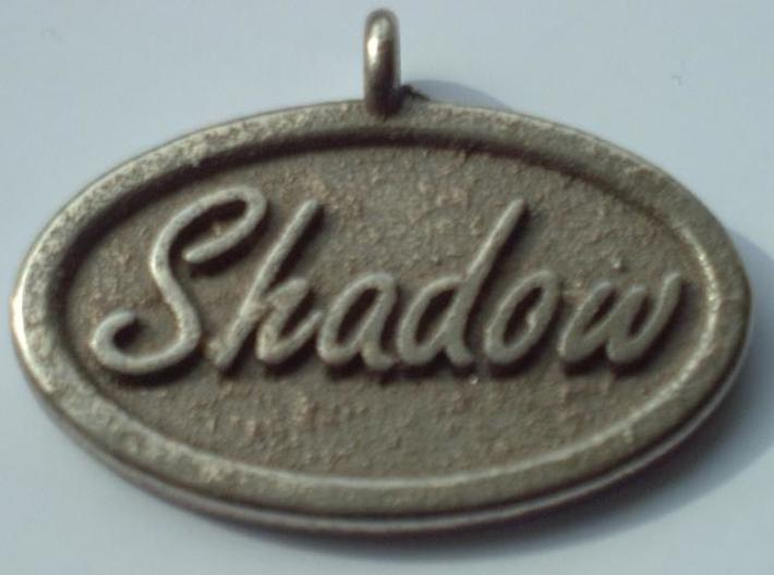 Oval Pet Tag / Pendant 3d printed Description