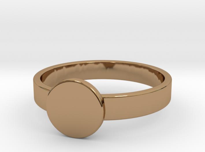 Initial Ring 3d printed